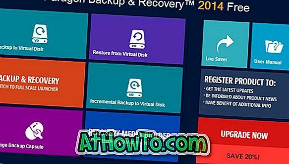 Come creare Live USB per il backup dei file