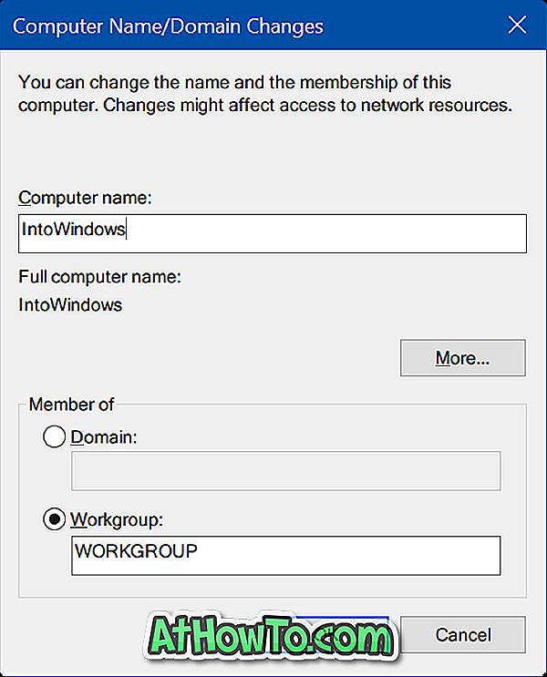 Jak zmienić nazwę komputera z systemem Windows 10