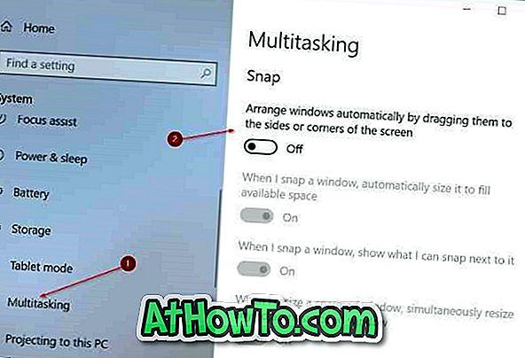 Windows 10에서 Aero Shake를 사용하거나 사용하지 않도록 설정하는 방법