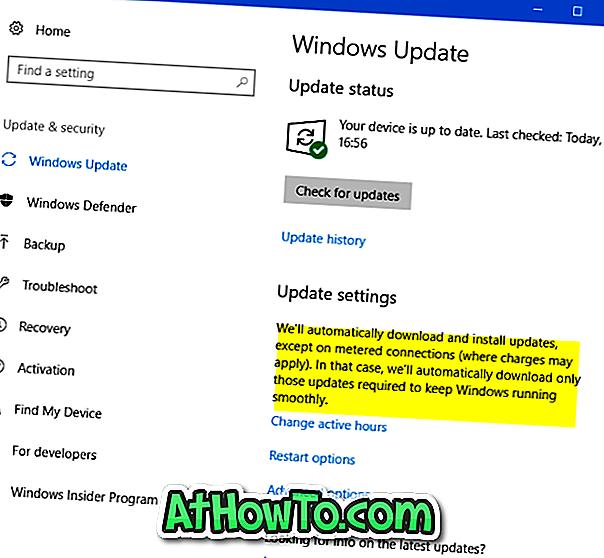 """""""Windows 10"""" automatiškai atsisiunčia naujinimus matuojamose jungtyse"""