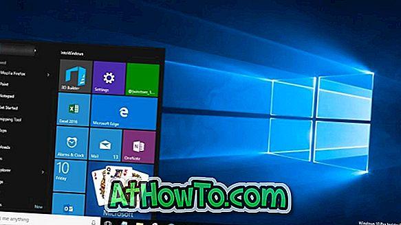 Ustawienia menu Start w systemie Windows 10