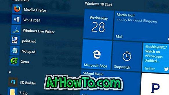 ตรึงบัญชีอีเมลส่วนบุคคลไว้ที่เมนูเริ่มใน Windows 10
