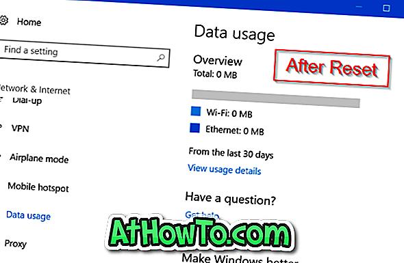 Kuidas andmete kasutamine Windowsis kustutada 10