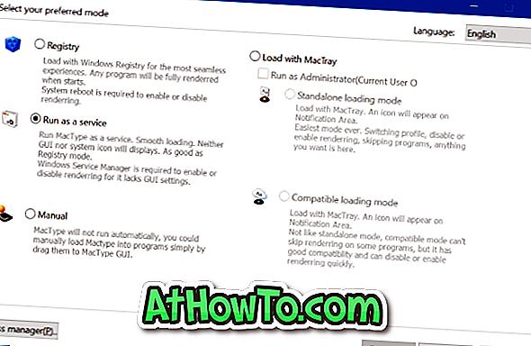 MacType til Windows 10: Gør Windows 10-skrifttyper ligne Mac OS