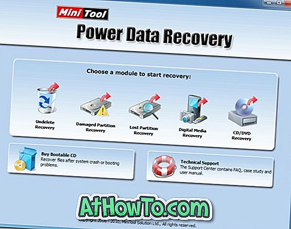 MiniTool Power Data Recovery Free för Windows 10