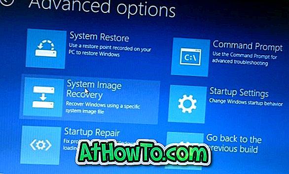 5 mód a speciális indítási beállítások megnyitásához a Windows 10 rendszerben