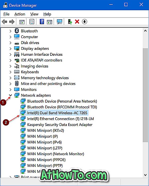 """Kaip įdiegti belaidį (""""Wi-Fi"""") tvarkyklę """"Windows 10"""""""