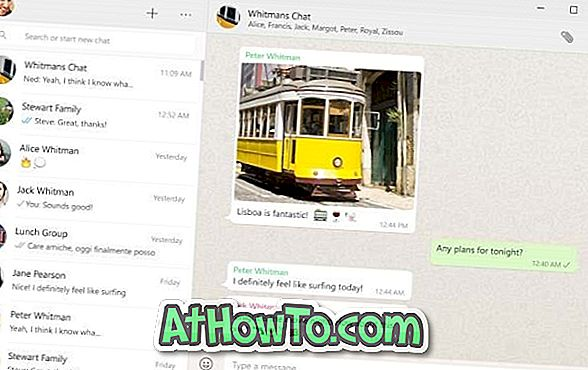 Installera WhatsApp Desktop App på Windows 10