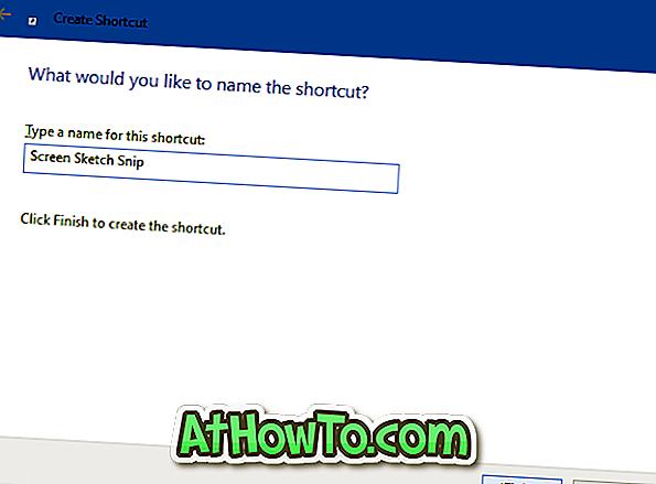 Buat Snip & Snip Shortcut Desktop Snip Dalam Windows 10