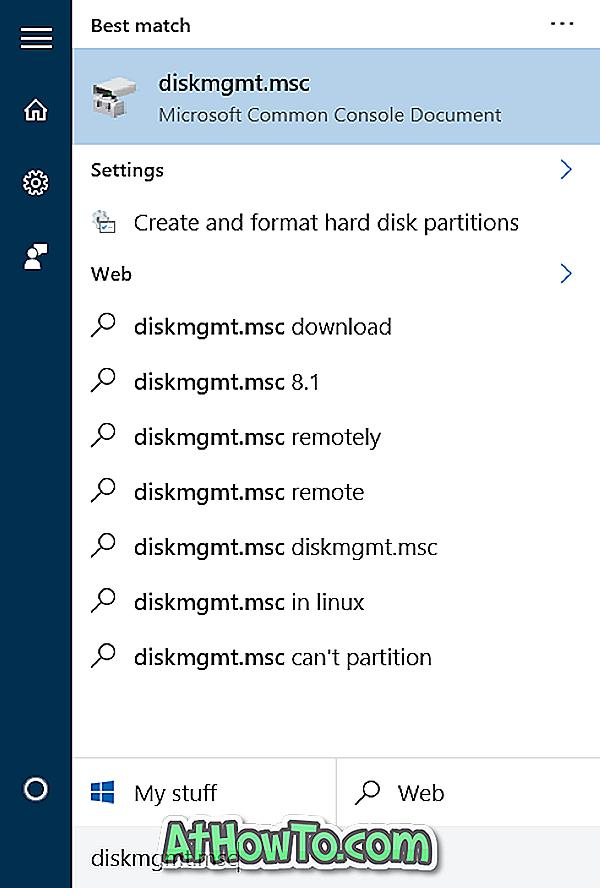 Ako zmenšiť objem alebo oddiel vo Windows 10. \ T
