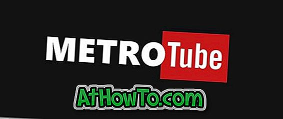 MetroTube Windows 10/8 versijai