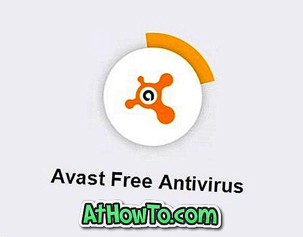 Tee Avast Antivirus Faster Windows 10-st Nitro värskenduse installimisel