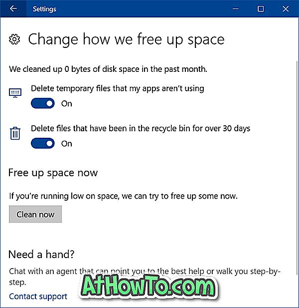 Kaip automatiškai atlaisvinti diskų erdvę Windows 10