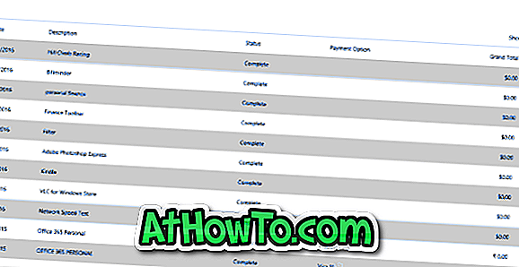 Cómo ver el historial de compras de App Store en Windows 10