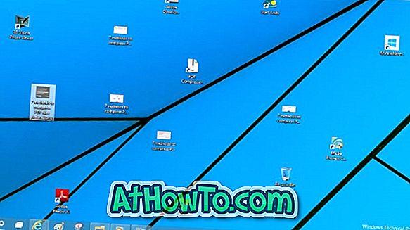 डेस्कटॉप आइकन दिखाने या छिपाने के लिए कीबोर्ड शॉर्टकट कैसे बनाएं