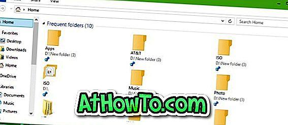 Sådan spindes mapper til hurtig adgang i Windows 10