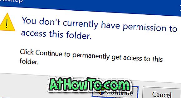 Correction: actuellement, vous n'avez pas la permission d'accéder à ce dossier sous Windows 10