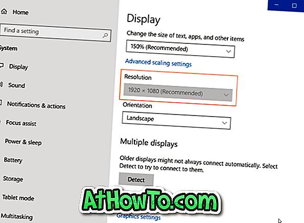 Oprava: Nelze změnit rozlišení obrazovky v systému Windows 10