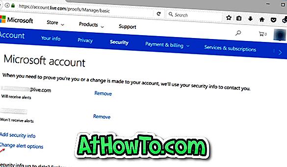 Comment changer le numéro de téléphone de votre compte Microsoft