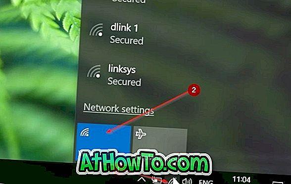 Automatisches Einschalten des Wi-Fi in 1 Stunde, 4 Stunden oder 24 Stunden in Windows 10