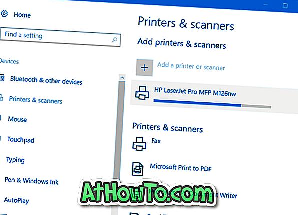 Kā pievienot bezvadu printeri sistēmai Windows 10