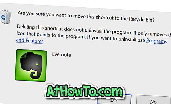Kā aktivizēt dzēšanas apstiprinājuma dialogu Windows 10 / 8.1