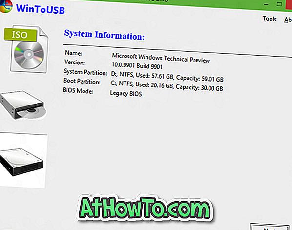 Kako klonirati postojeće instalacije sustava Windows na USB i učiniti ga Bootable