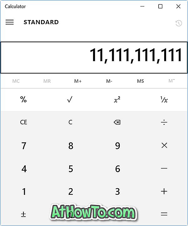 Correção: Calculadora não está funcionando ou abrindo no Windows 10