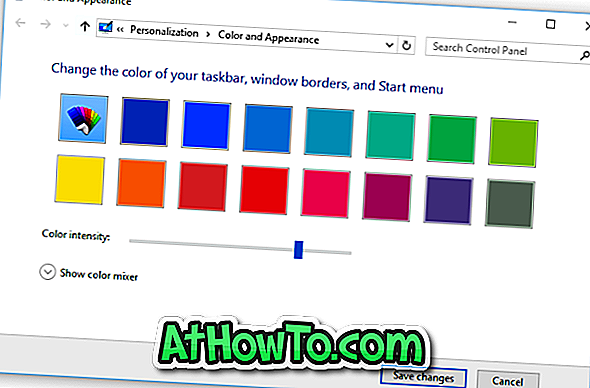Sådan ændres Window Border Color i Windows 10