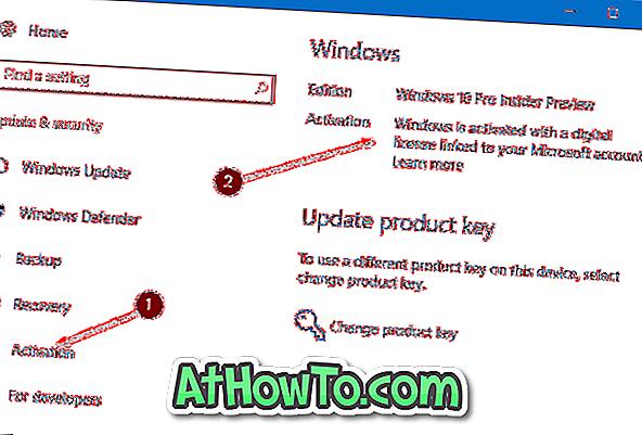 Link Windows 10-licens, mens du bruger lokal brugerkonto