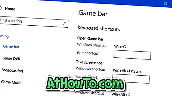 So ändern Sie Tastenkombinationen für die Spielleiste in Windows 10