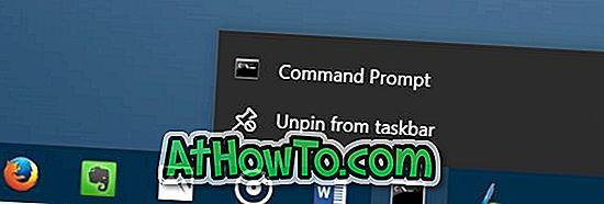 3 manieren om programma's uit te voeren die zijn vastgezet op de taakbalk als beheerder in Windows 10