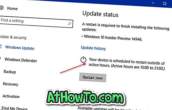 Beenden Sie Windows 10 vom Neustart bis zum Abschluss der Installation von Updates