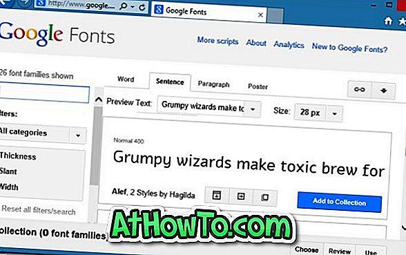 Come installare i caratteri Web di Google in Windows e Mac senza utilizzare strumenti di terze parti