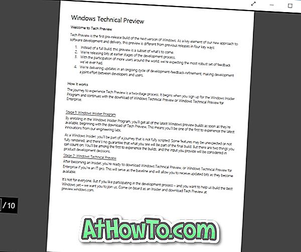 4 lecteurs PDF gratuits pour Windows 10