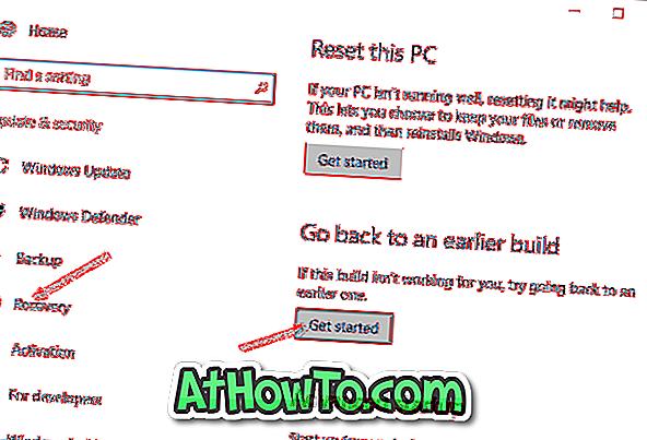 Jak odinstalovat Windows 10 výročí aktualizace