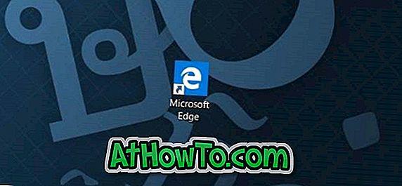 Sådan oprettes Microsoft Edge Genvej på skrivebordet i Windows 10