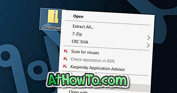 Kā noņemt skenēšanu ar Windows Defender no Windows konteksta izvēlnes 10