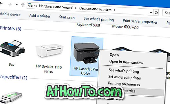 Ako zmeniť názov tlačiarne vo Windows 10