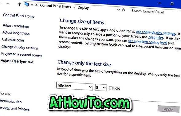 Avanceret limning af tekst og andre elementer fjernet fra Windows 10 Creators Update