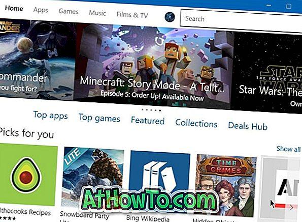Achetez des applications et des jeux du Windows 10 Store en utilisant votre facture ou votre solde de téléphone portable