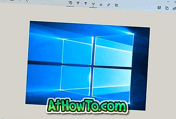 Windows 10'da Keskin Nişancı ve Eskiz Açmak İçin Yazdırma Ekranı Tuşunu Kullanma