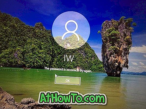 Sådan ændres Glemt Windows 10 Password ved hjælp af Password Reset Disk