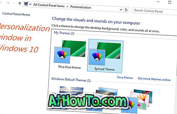Kuidas avada isikupärastamise aken Windows 10-s