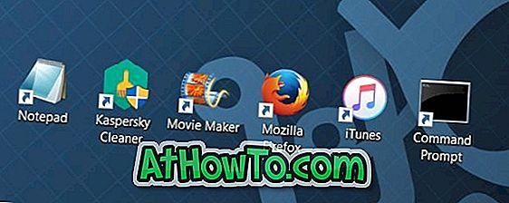 विंडोज 10 में प्रोग्राम के लिए डेस्कटॉप शॉर्टकट कैसे बनाएं