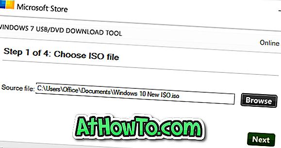 Beenden Sie das Windows 7 USB / DVD-Download-Tool vom Formatieren des USB-Laufwerks