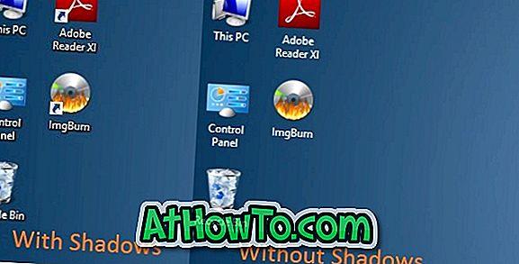 Activer ou désactiver les ombres pour les textes sur le bureau sous Windows 10/8/7