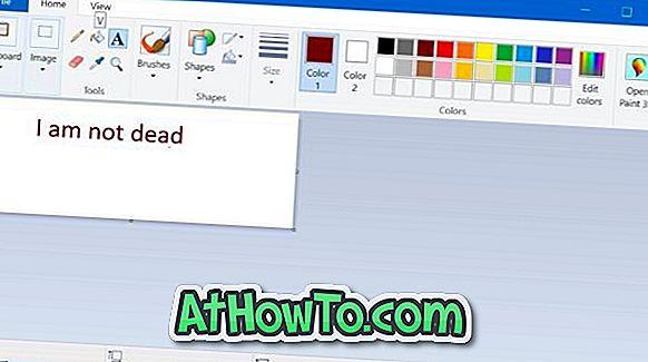 विंडोज स्टोर से विंडोज 10 के लिए माइक्रोसॉफ्ट पेंट डाउनलोड करें