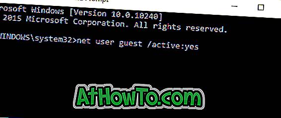 Windows 10 Gast Account
