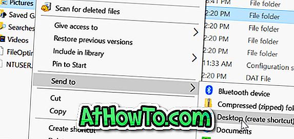 Как да добавите папки за изпращане в менюто в Windows 10